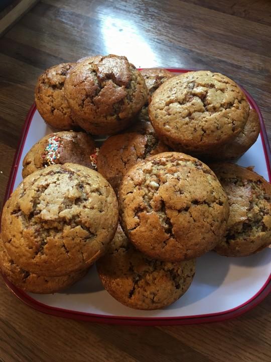 schoko nuss muffins rezept mit bild von stef81. Black Bedroom Furniture Sets. Home Design Ideas
