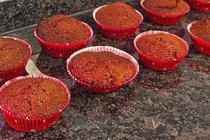 Schoko - Nuss Muffins 2