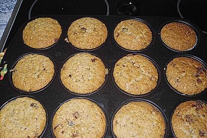 Schoko - Nuss Muffins 9
