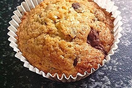 Schoko - Nuss Muffins 6