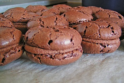 Macarons au Chocolat 23
