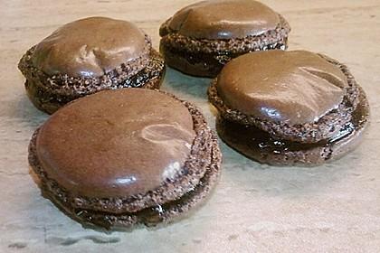 Macarons au Chocolat 16