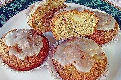Apfel - Amaretti - Muffins