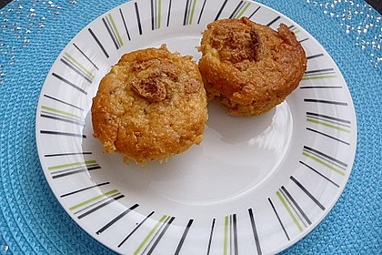 Apfel - Amaretti - Muffins 1