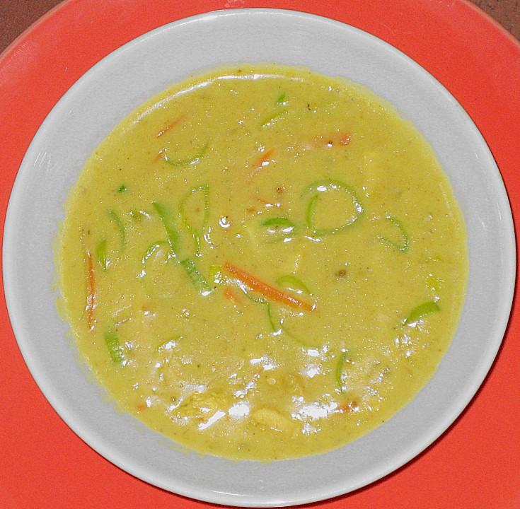 asia curry suppe rezept mit bild von fischerlooft. Black Bedroom Furniture Sets. Home Design Ideas