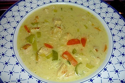 Asia - Curry - Suppe 8