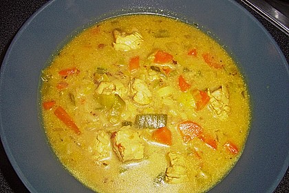 Asia - Curry - Suppe 22