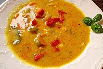 Asia - Curry - Suppe 2