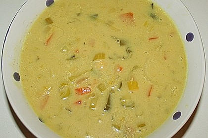 Asia - Curry - Suppe 6