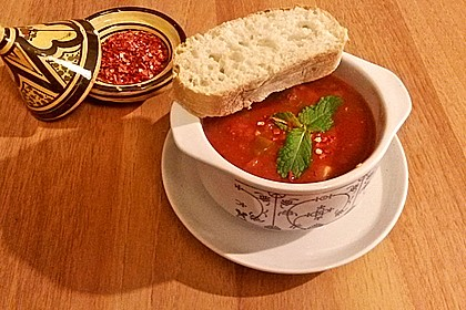 Afrikanische Tomatensuppe 2
