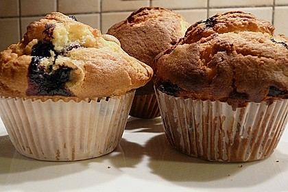 White Chocolate Blueberry Muffins 35