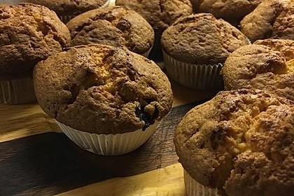 White Chocolate Blueberry Muffins 2