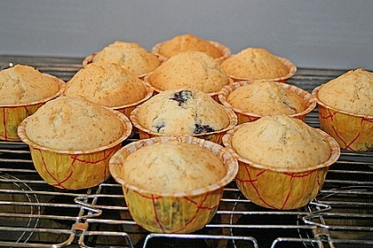 White Chocolate Blueberry Muffins 18