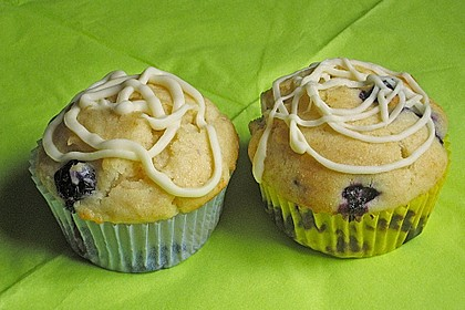 White Chocolate Blueberry Muffins 30