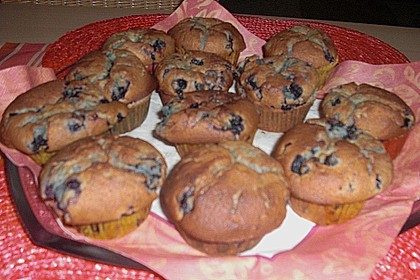 White Chocolate Blueberry Muffins 43