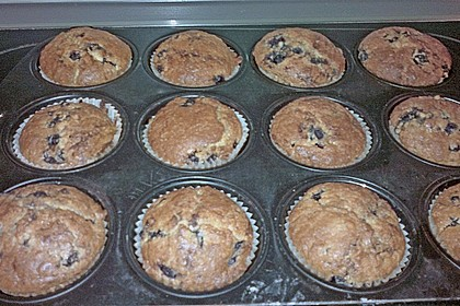 White Chocolate Blueberry Muffins 40