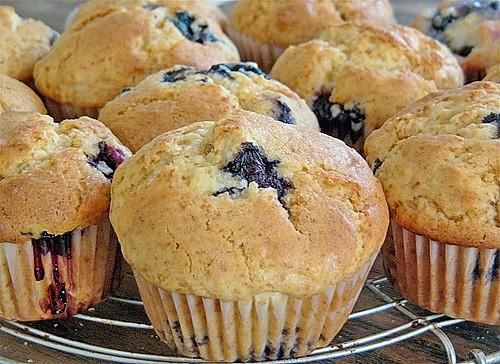 White Chocolate Blueberry Muffins (Rezept mit Bild)   Chefkoch.de