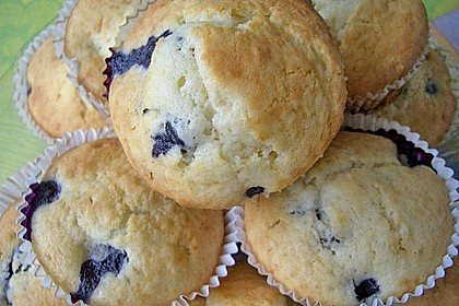 White Chocolate Blueberry Muffins 26