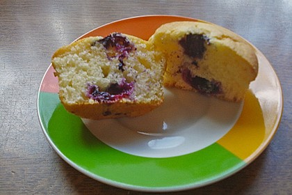 White Chocolate Blueberry Muffins 34