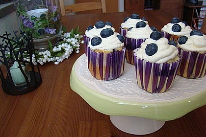 White Chocolate Blueberry Muffins 14