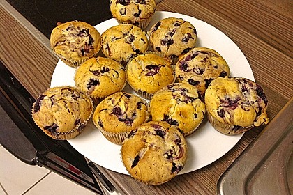 White Chocolate Blueberry Muffins 13