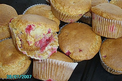 White Chocolate Blueberry Muffins 29