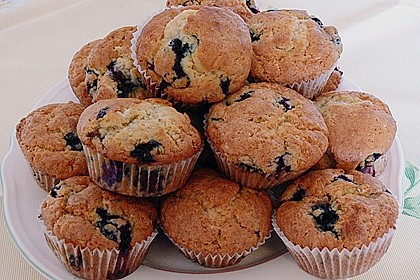 White Chocolate Blueberry Muffins 4