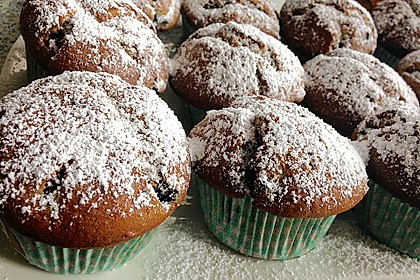 White Chocolate Blueberry Muffins 9