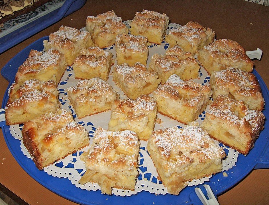 Rezepte fur kuchen vom blech