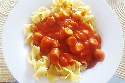 Tomatensoße wie aus der DDR Schulküche 4