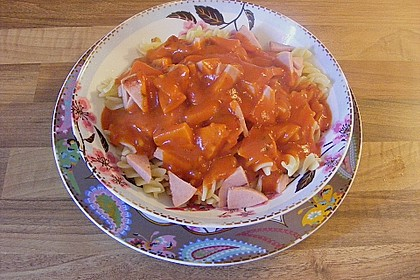 Tomatensoße wie aus der DDR Schulküche 9
