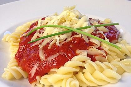 Tomatensoße wie aus der DDR Schulküche 0