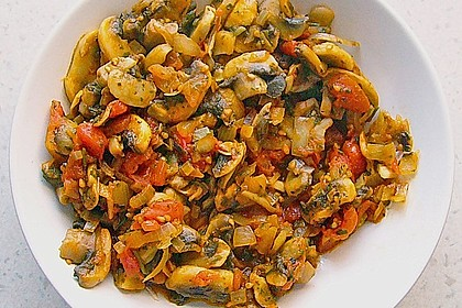 Tomaten - Champignon - Gemüse 4