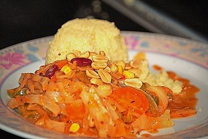 Afrikanischer Erdnusseintopf 10
