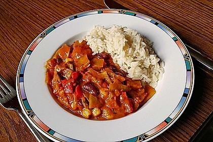 Afrikanischer Erdnusseintopf 1