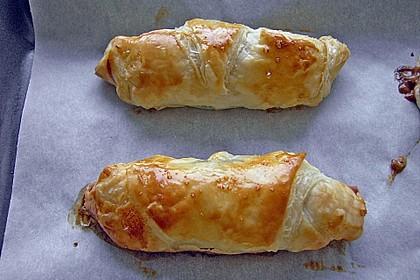 Gefüllte Schoko - Croissants 5
