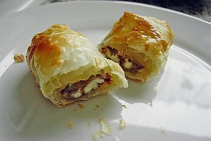 Gefüllte Schoko - Croissants 9