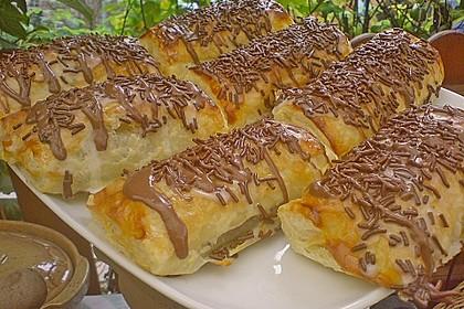 Gefüllte Schoko - Croissants 2
