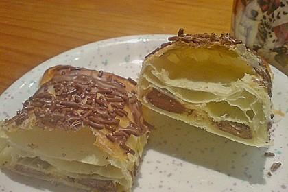 Gefüllte Schoko - Croissants 7