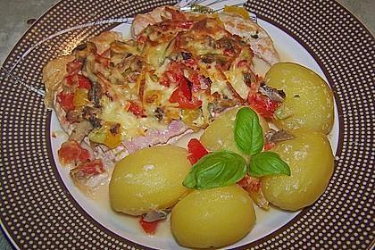 Fettarme Ofenschnitzel 2