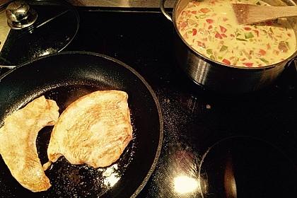 Fettarme Ofenschnitzel 7