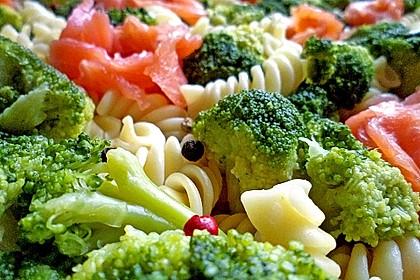 Nudel - Lachs - Brokkoli - Auflauf 2