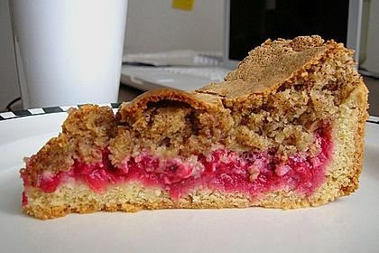 Rhabarber- oder Träubleskuchen mit Haselnussbaiser nach Großmutters Art 1