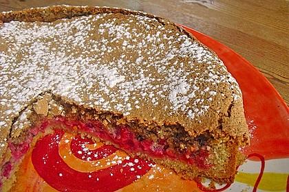 Rhabarber- oder Träubleskuchen mit Haselnussbaiser nach Großmutters Art 2