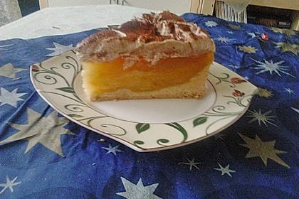 Apfelkuchen mit Sahne - Zimt - Haube 11