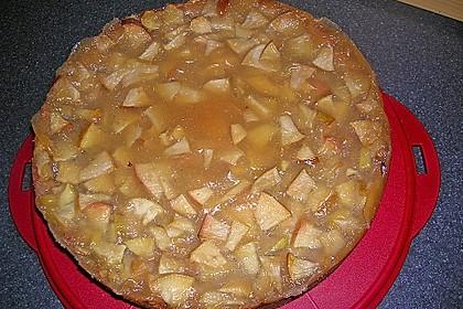 Apfelkuchen mit Sahne - Zimt - Haube 9