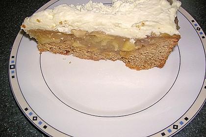 Apfelkuchen mit Sahne - Zimt - Haube 8