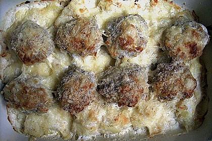 Frikadellen - Kartoffel - Auflauf 5