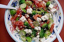 Rosenkohl - Schafskäse - Salat