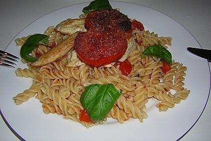 Überbackenes Hühnerbrustfilet mit karamellisierten Tomaten 3